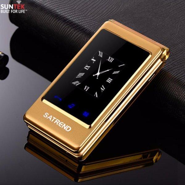 Điện thoại di động SUNTEK Satrend V9 (Vàng) | Hàng nhập khẩu chính hãng