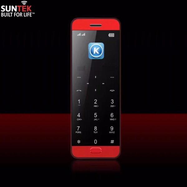 Điện thoại di động SUNTEK Vicool V10 kiêm tai nghe Bluetooth (Đỏ) | Hàng nhập khẩu chính hãng