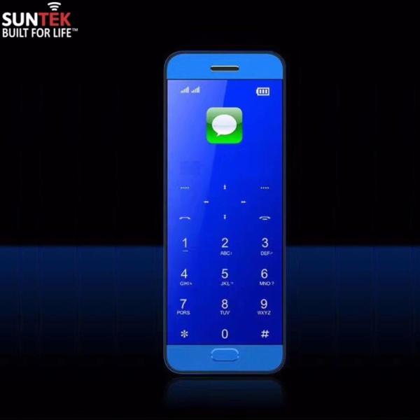 Điện thoại di động SUNTEK Vicool V10 kiêm tai nghe Bluetooth (Xanh) | Hàng nhập khẩu chính hãng