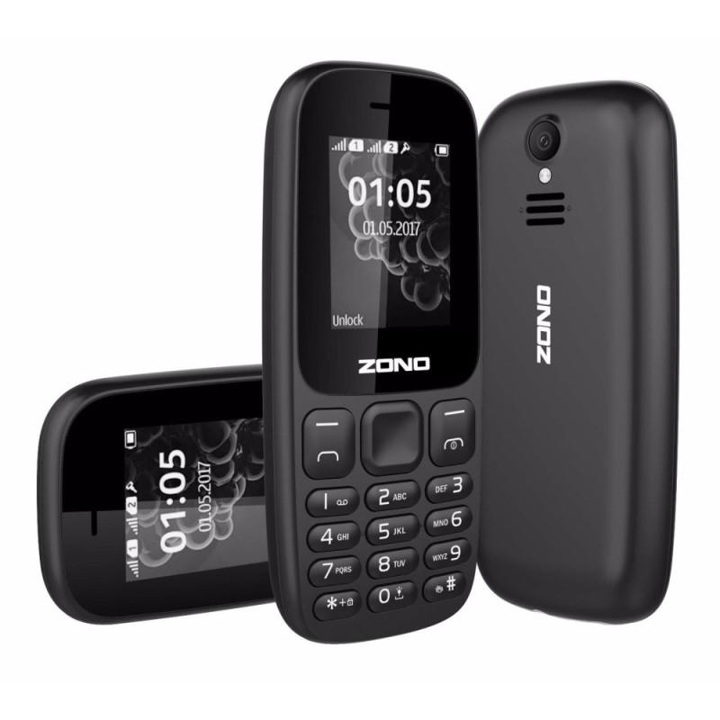 ĐTDĐ ZONO N105 2 Sim Có Camera (Bảo hành 12 tháng) - Đen