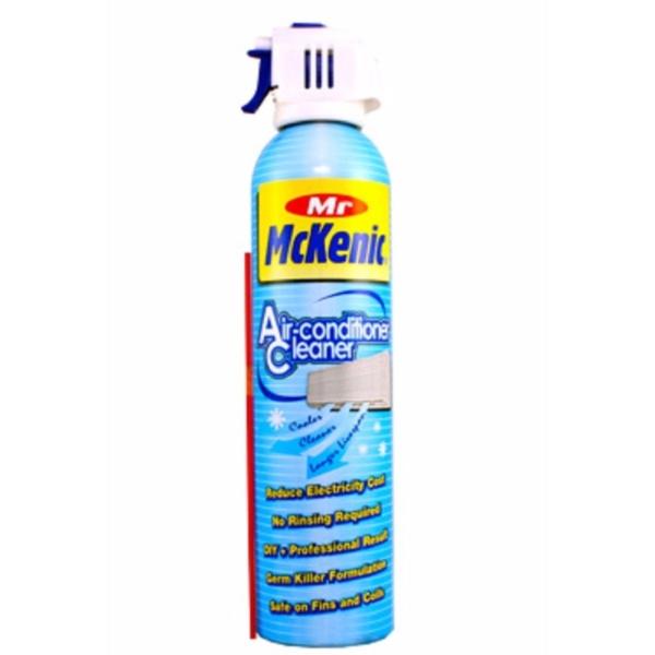 Dung dịch Làm Sạch Máy Lạnh Mr MCKENIC Air conditioner Cleaner dạng bọt làm sạch hiệu quả không cần rửa lại với nước