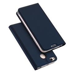 Mã Khuyến Mại Dux Ducis Skin Pro Series For Xiaomi Redmi 4X Business Leather Stand Mobile Cover Shell Dark Blue Dux Ducis