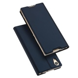 Bán Dux Ducis Skin Pro Series Leather Card Holder Mobile Shell For Sony Xperia Xa1 Ultra Dark Blue Rẻ