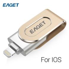 Hình ảnh EAGET V90 USB Flash Drive USB 3.0 16GB Micro USB OTG Pendrive U Disk Sliver - intl