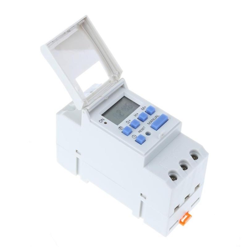 Bảng giá Công tắc điện tử tuần lập trình chuyển đổi kỹ thuật số rơle bộ điều khiển hẹn giờ  ( trắng )   - 12v Phong Vũ
