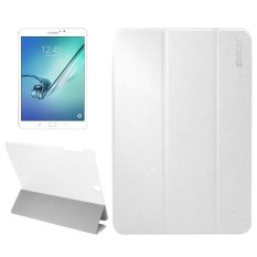 Mua Enkay For Samsung Galaxy Tab S3 9 7 Inch T820 T825 Silk Texture Horizontal Flip Leather Case With Holder And Sleep Wake Up Function White Intl Mới