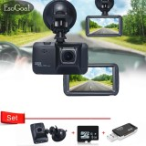 Esogoal 3 Ir Light Night Vision 1080P 120° Car Dvr On Dash Video Recorder G Sensor Vehicle Camera And Micro C 10 8G Memory Card And Usb 2 Sd Card Reader Intl Esogoal Chiết Khấu 30
