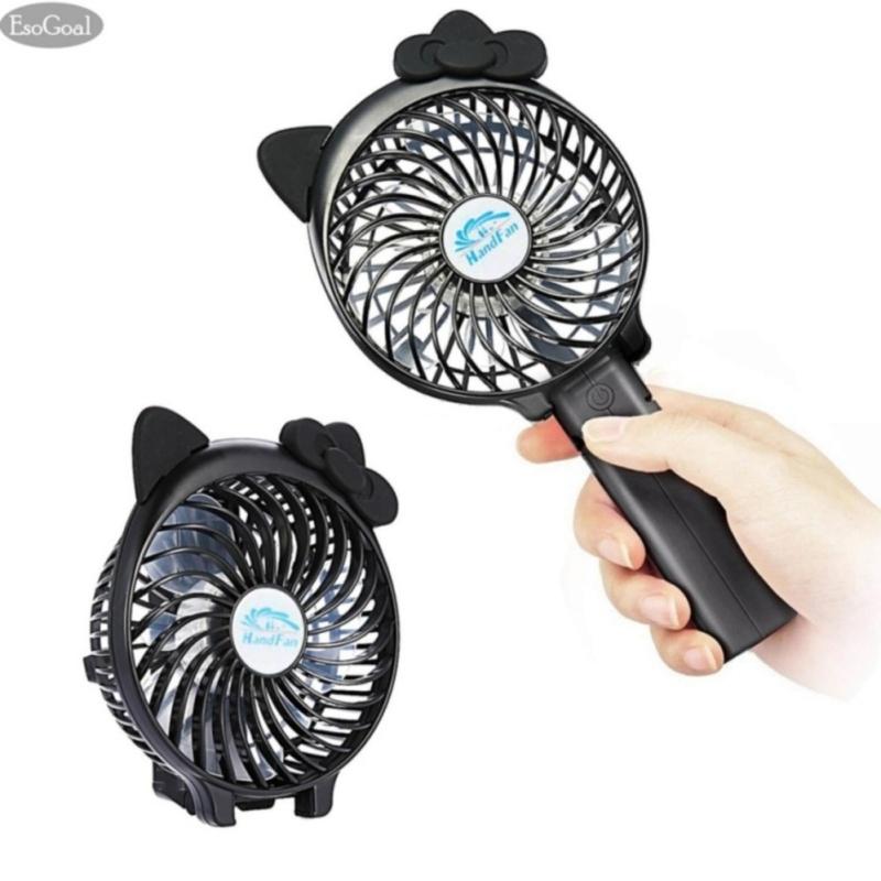 Bảng giá EsoGoal Mini Fan, EsoGoal USB Portable Folding Handheld Desk Rechargeable Foldable Fan for Travel - intl Phong Vũ