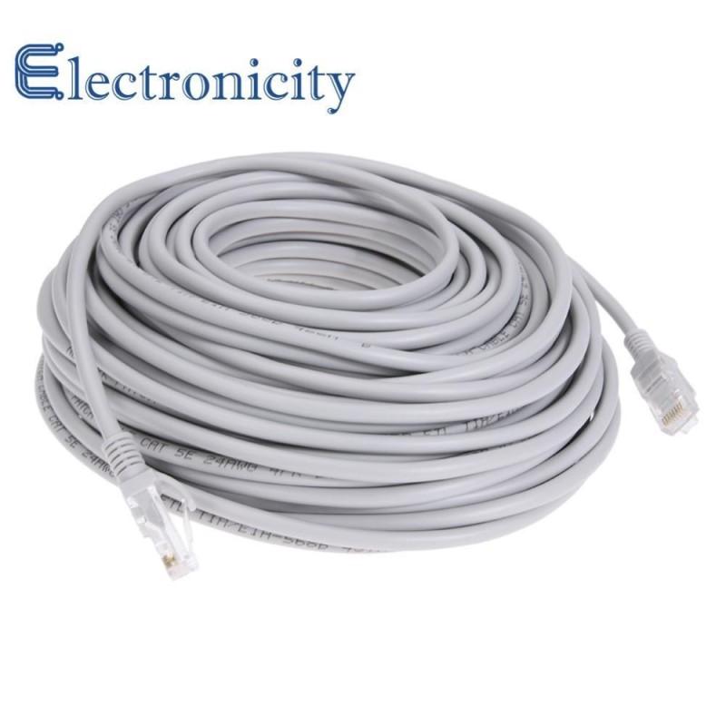 Bảng giá Cáp Ethernet Tốc Độ Cao RJ45 Mạng LAN Cáp Router Máy Tính Dây Cáp  ( Màu Xám )  - 25 m - quốc tế Phong Vũ