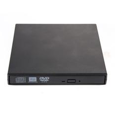 Hình ảnh Ổ Ghi Ngoài USB 8x Ghi DVD RW DVD CD RW Dành cho tất cả PC (Đen) -quốc tế