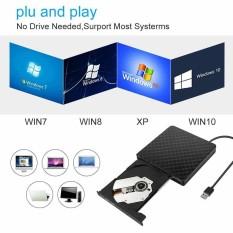 Hình ảnh External USB 3.0 DVD RW Writer Drive Burner Reader Player SATA For Laptop PC - intl