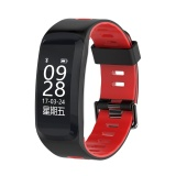 Chiết Khấu F4 96 Oled Smart Fitness Bracelet With Blood Pressure Oxygen Heart Rate Monitor Red Intl Oem Hong Kong Sar China