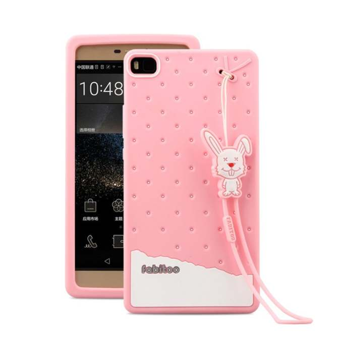 Fabitoo Cute ice cream silicone back cover case For OPPO R9 With lanyard. Source ·
