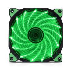 Giá Fan Case Coolman 12cm 15 Led Green