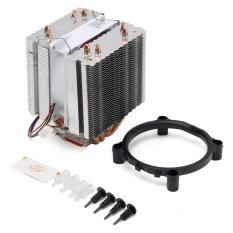 Quạt CPU Êm Mát Tản Nhiệt 4 Ống Nhiệt Cho Intel LGA775 1155 1156 Core i7