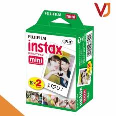 Coupon Ưu Đãi Film Cho Máy ảnh Fujifilm Instax Mini Chính Hãng (hộp 20 Tấm) - độ Bền Lên Tới 40 Năm - Hãng Phân Phối Chính Thức