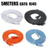 PHẲNG Ethernet CAT6 Mạng Miếng Dán Dẫn RJ45 Cho Smart TV/PS4/Xbox Sỉ Màu Cam-intl