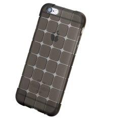 Linh hoạt Khối Siêu mỏng Trong Suốt TPU Cho iPhone 6 plus (Đen)-quốc tế