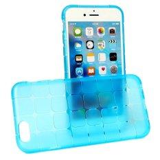 Linh hoạt Khối Siêu mỏng Trong Suốt TPU Cho iPhone 6 plus (Xanh Dương)-quốc tế