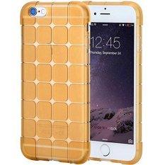 Linh hoạt Khối Siêu mỏng Trong Suốt TPU Cho iPhone 6 plus (Vàng)-quốc tế