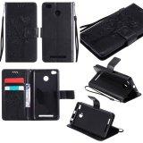 Bán Cấp Kiểu Ốp Lưng Dập Nổi Cay Da Pu Slim Phu Hợp Với Bảo Vệ Chống Sốc Tpu Ben Trong Ốp Lưng Khe Cắm Thẻ Day Cầm Tay Xiaomi Redmi 3 S Quốc Tế Trung Quốc Rẻ
