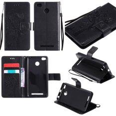 Cửa Hàng Cấp Kiểu Ốp Lưng Dập Nổi Cay Da Pu Slim Phu Hợp Với Bảo Vệ Chống Sốc Tpu Ben Trong Ốp Lưng Khe Cắm Thẻ Day Cầm Tay Xiaomi Redmi 3 S Quốc Tế Oem Trực Tuyến