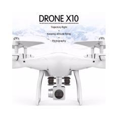 Hình ảnh Flycam DRONE S10 camera WIFI 1080P SẮC NÉT quay trực tiếp về điện thoại-thàng nhập (màu trắng)