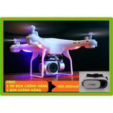 Chiết Khấu Flycam Drone S10 Camera Wifi 1080P Sắc Net Quay Trực Tiếp Về Điện Thoại Hang Nhập Mau Trắng