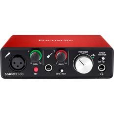 Giá Bán Focusrite Scarlett Solo Usb Audio Interface 2Nd Generation Focusrite Mới