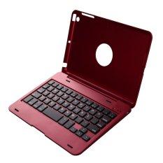 Hình ảnh Có thể gấp gọn Không Dây Bàn Phím Bluetooth Ốp Lưng iPad Mini 1 2 3 (Đỏ)-quốc tế