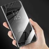 Mã Khuyến Mại Cho Iphone X Clear View Mạ Điện Gương Lật Ốp Điện Thoại Full Bảo Vệ Chống Trầy Xước Điện Thoại Ốp Danh Cho Iphone X Vi Cầm Tay Vỏ Quốc Tế Trong Trung Quốc
