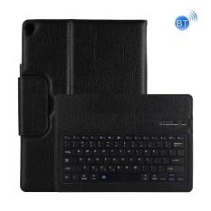 Dành cho iPad Pro 12.9 inch (2017) bàn Phím Bluetooth có thể tháo rời + Ngang dùng Ốp Lưng Da (Đen)-quốc tế