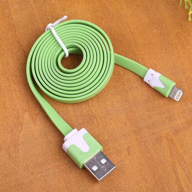 For iPhone 5/S/C 1/2/3M Noodle USB Sync Data