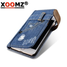 Chiết Khấu For Iphone 7 Leather Case Xoomz Artificial Leather Mini Back Pocket Jeans Pu Leather Snap Case Wallet Style Card Slot With Tpu Frames Vegan Leather Back Cover For Apple Iphone 7 Intl Xoomz Trong Trung Quốc