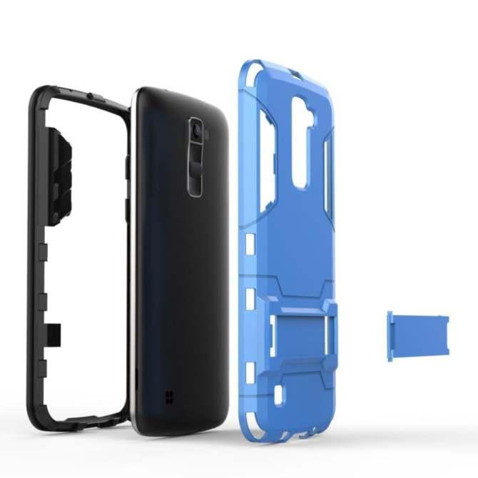 Lg K10 M2 Case Ultra Thin Tpu Softcase Grey Daftar Harga Terkini Source · For LG K10 Case Shockproof Robot Armor Case Hybrid Rugged Silicone Rubber Hard ...