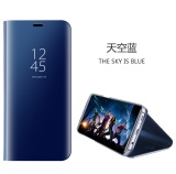 Bán Danh Cho Samsung Galaxy Note 5 Sang Trọng Mạ Lật Thong Minh Kinh Chiếu Ro Rang Trong Suốt Full Bao Tay Dinh Da Pu Ốp Lưng Điện Thoại Samsung Galaxy Note 5 Quốc Tế Người Bán Sỉ
