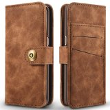 Cửa Hàng For Samsung Galaxy S7 Edge 2In1 Stand Support Card Slot Magnetic Buckle Vintage Cow Leather Split Cover Phone Wallet Case Intl Trực Tuyến