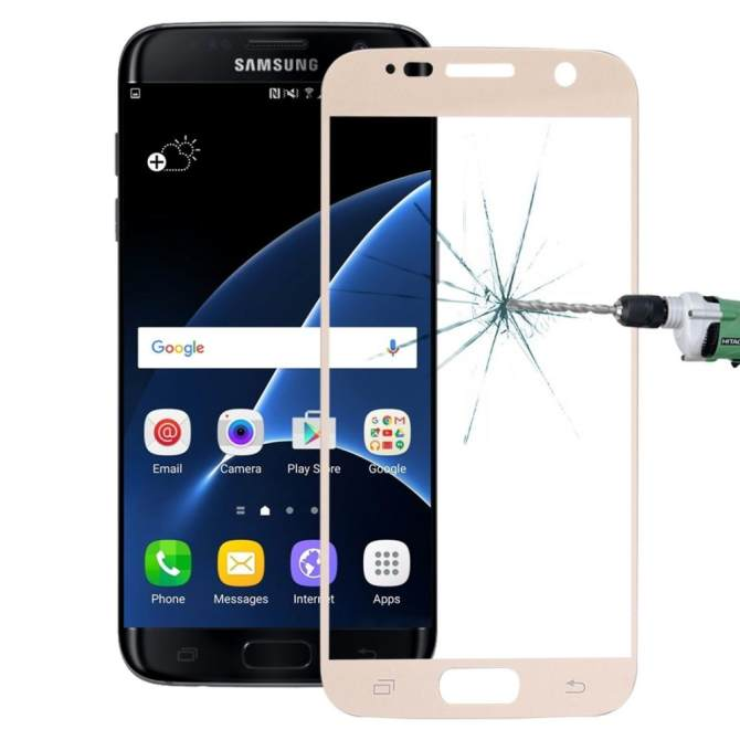 Tempered Glass Screen Film -. Source · For Samsung Galaxy S7 /