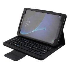 Hình ảnh Dành cho Samsung Galaxy Tab A 10.1 2016 T580 T585 T580N T585N Từ Tính Có Thể Tháo Rời ABS Bàn Phím Bluetooth Bao da PU, đen-quốc tế