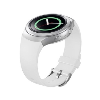 Dành cho Samsung Gear S2 Dây Đồng Màu Dây Silicon (Trắng)-quốc tế