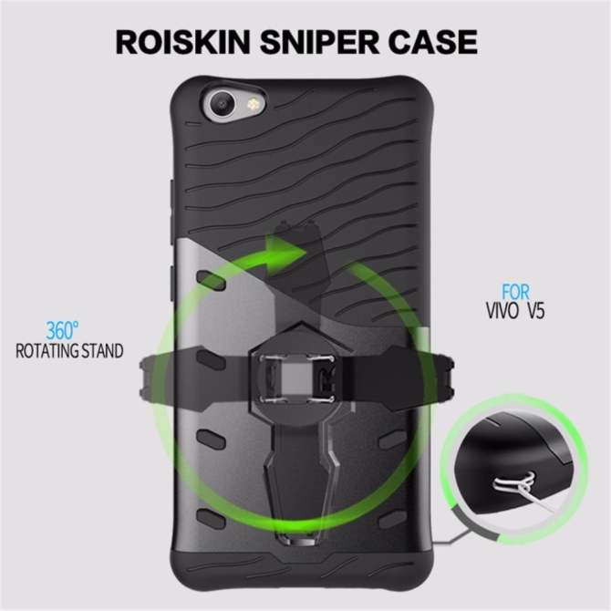 PC+TPU Hybrid Back Cover with Kickstand Holder Armor Cell Phone CasePHP239 .