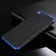 Danh Cho Xiaomi Mi 6 5 15 Inch Cao Cấp Sieu Mỏng Nguyen Tố Kim Loại Thời Trang Nhom Ốp Điện Thoại Di Động Lưng Bao Da Xanh Dương Phối Đen Quốc Tế Trong Trung Quốc