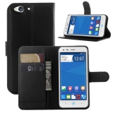 For Zte Blade S6 Lux Flip Leather With Deluxe Credit Card Flip Cover Case Phone Case Black Intl Oem Chiết Khấu