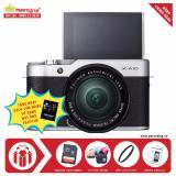 Mua Fujifilm X A10 Kit Xc 16 50Mm F3 5 5 6 Ois Ii Bạc Tặng Kem Thẻ Nhớ Sandisk 16Gb 48Mb S Tui Thời Trang Kinh Lọc Filter Miếng Dan Lcd Sach Cẩm Nang Hdsd Hang Phan Phối Chinh Thức Trực Tuyến Rẻ