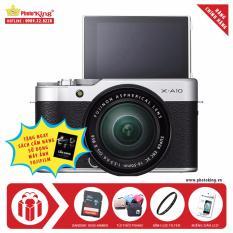 Cửa Hàng Bán Fujifilm X A10 Kit Xc 16 50Mm F3 5 5 6 Ois Ii Bạc Tặng Kem Thẻ Nhớ Sandisk 16Gb 48Mb S Tui Thời Trang Kinh Lọc Filter Miếng Dan Lcd Sach Cẩm Nang Hdsd Hang Phan Phối Chinh Thức
