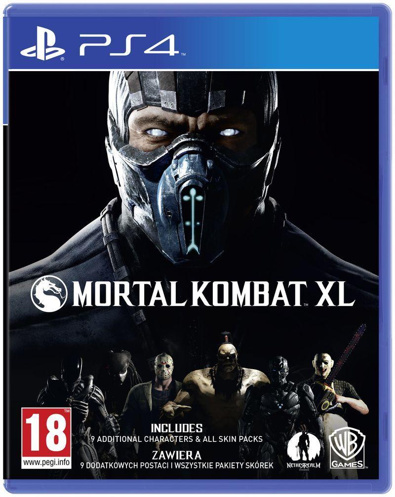 Game Cho Ps4 Mortal Kombat Xl