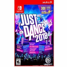 Mua Game Nintendo Switch Just Dance 2018 Phien Bản Us Ubisoft Trực Tuyến