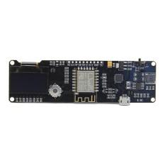 Hình ảnh Geekworm ESP8266 ESP-WROOM-02 Development Board Mini-WiFi NodeMCU Module with ESP8266 Chip + 18650 Battery Holder + 0.96 OLED - intl