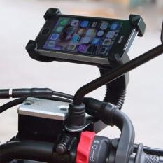 Hình ảnh Giá đỡ điện thoại kẹp 4 góc gắn kính chiếu hậu xe máy - Loại chất lượng