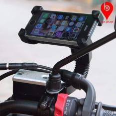 Hình ảnh Giá kẹp điện thoại trên xe máy loại chống sốc và cướp giật